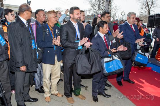 Сахалин открыл двери для будущих участников I Международных зимних Игр «Дети Азии»