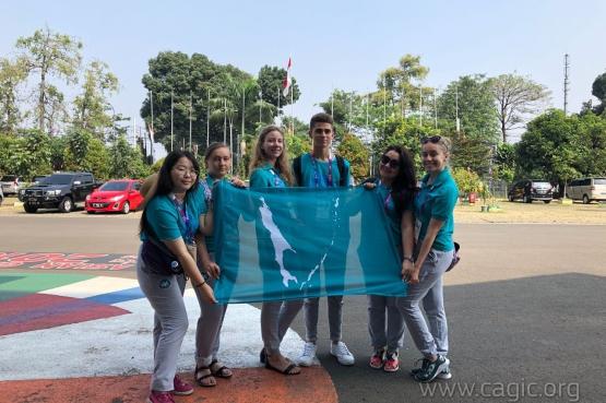 Волонтеры игр «Дети Азии» стали единственными представителями из России на Азиатских играх в Джакарте