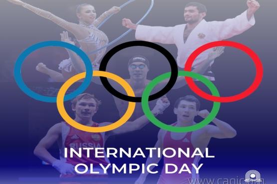 С Международным Олимпийским днем!