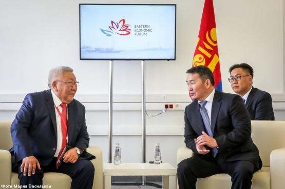 Егор Борисов обсудил проведение VII игр «Дети Азии» с президентом Монголии Халтмаагийном Баттулгой