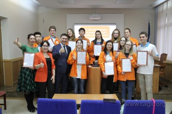 Волонтеры «Горного воздуха» получили почетные грамоты от Дирекции I зимних МСИ «Дети Азии»