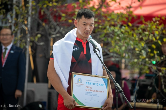 Павел Черноградский стал Послом Игр «Дети Азии»