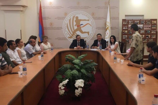 Ереван готовит сборную к Зимним Играм «Дети Азии»