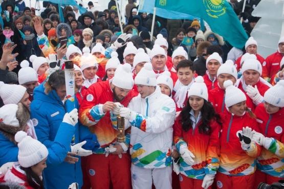 Призеры Игр «Дети Азии» стали факелоносцами Зимней Универсиады
