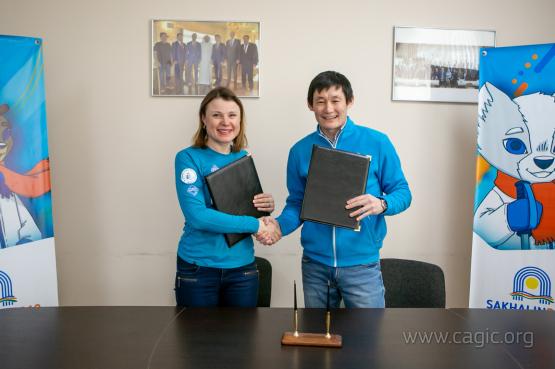 """Международный комитет Игр """"Дети Азии"""" подписал соглашение о развитии биатлона"""
