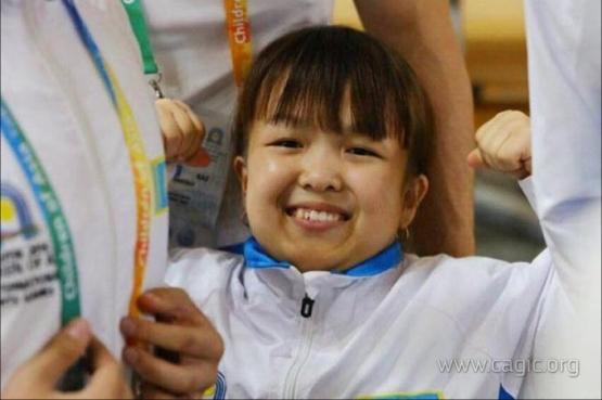 Чемпионка 6 Игр «Дети Азии» стала Второй вице-мисс Казахстана