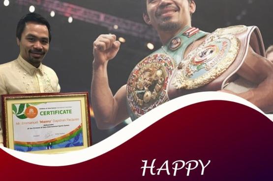 Феномену мирового бокса Мэнни Пакьяо - 42 года!