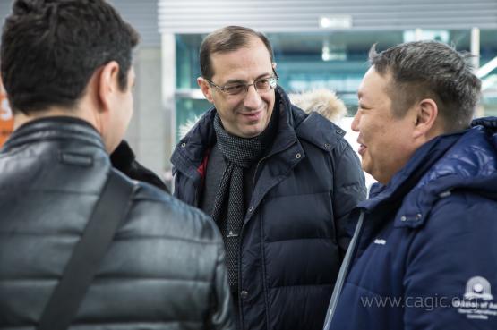 На Сахалин прибывают спортивные деятели из стран - участниц Первых зимних Международных Игр «Дети Азии»
