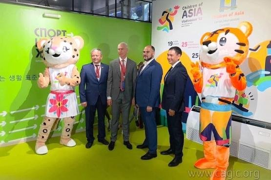 Состоялась презентация заявки VII Международных спортивных игр «Дети Азии» Владивосток-2022