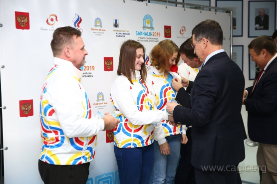 Уральский федеральный округ готовит спортсменов для участия в I зимних. Международных спортивных играх «Дети Азии»