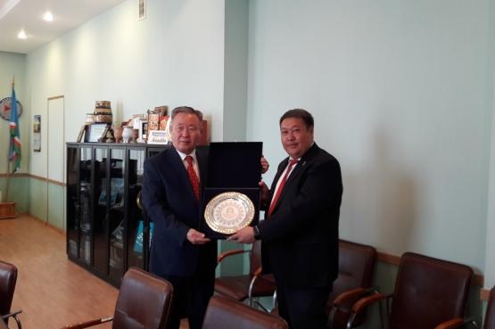 Генконсул Монголии обсудил вопросы подготовки к Играм «Дети Азии»
